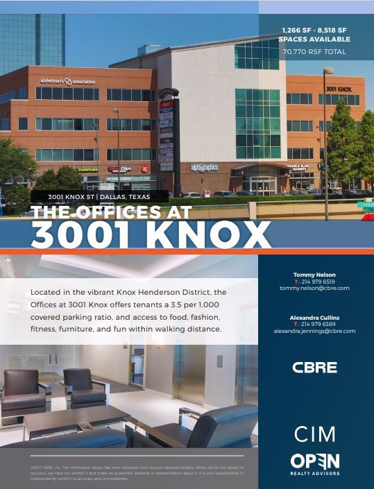 Image of The Offices at 3001 Knox - Suite 406-4798 - CoeoSpace 4798