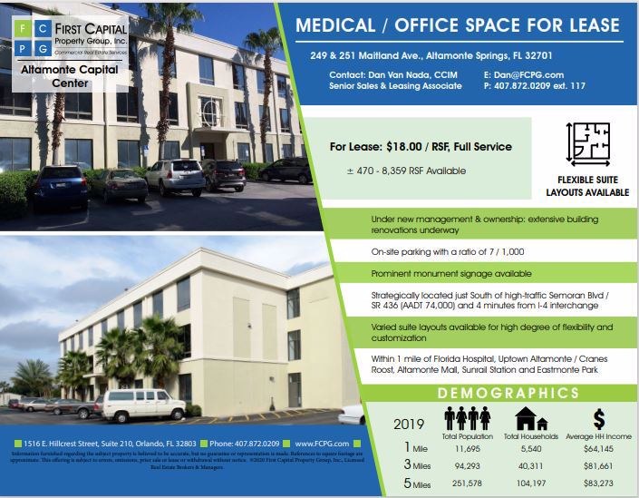 Image of 249 Maitland Ave. - Suite 3000-4860 - CoeoSpace 4860